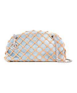 Chanel Vintage | Quilted Denim Single Chain Shoulder Bag