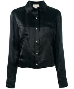 Laneus   Souvenir Satin Shirt 44