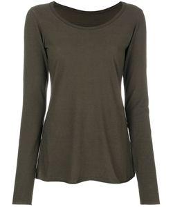Rundholz Black Label | Boat Neck Long Sleeve T-Shirt Women