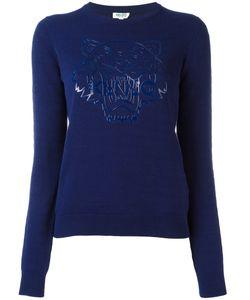 Kenzo | Tiger Print Sweater Medium Cotton