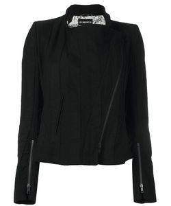 Ann Demeulemeester | Blanche Off Centre Zip Jacket 36