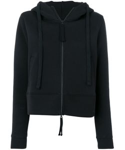 THOM KROM | Cropped Front Pocket Hoodie Women