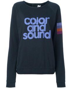 Free City | Freecity Color And Sound Print Sweatshirt Small Cotton