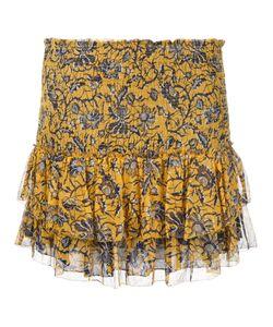 Isabel Marant Étoile | Bee Print Smocked Miniskirt Size 38