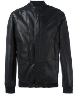 Emporio Armani | Zip Up Jacket 52 Lamb Skin/Polyamide/Spandex/Elastane/Lamb