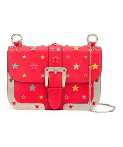 Red Valentino | Star Studded Crossbody Bag Cotton/Calf