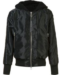 Daniel Patrick | Hooded Bomber Jacket Small Polyester/Nylon