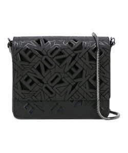 Kenzo | Laser Cut Shoulder Bag Cotton/Calf Leather/Polyamide/Polyurethane