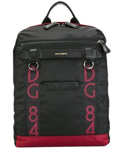 Dolce & Gabbana | Logo Panel Backpack Nylon/Leather