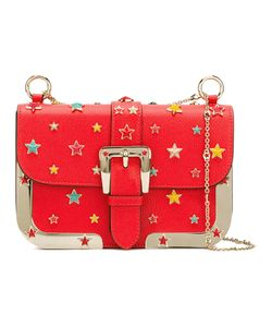 Red Valentino | Star Stud Shoulder Bag Leather/Metal/Plastic