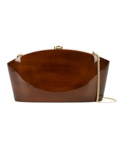 ROCIO | Twiggy Clutch Wood