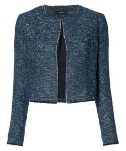 Theory | Cropped Bouclé Jacket 12 Cotton/Viscose