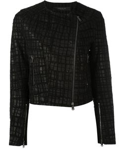 Federica Tosi | Embroidered Biker Jacket