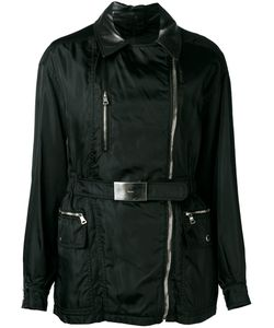 Prada | Leather Collar Jacket Size