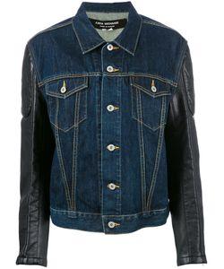 JUNYA WATANABE COMME DES GARCONS | Junya Watanabe Comme Des Garçons Printed Denim Jacket Medium