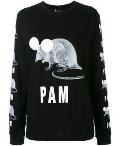PAM PERKS AND MINI | Printed Logo Sweatshirt