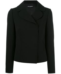 Dolce & Gabbana | Fitted Blazer 42 Virgin Wool/Silk/Spandex/Elastane