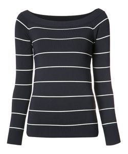 Grey Jason Wu   Striped Sweatshirt