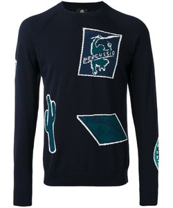 PS PAUL SMITH | Ps By Paul Smith Patterned Crew Neck Jumper
