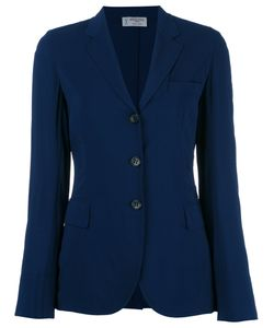 Alberto Biani | Three-Button Blazer 44 Viscose/Spandex/Elastane/Acetate