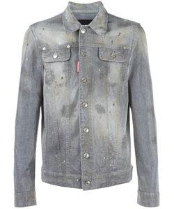 Dsquared2 | Studded Denim Jacket 50 Cotton/Spandex/Elastane