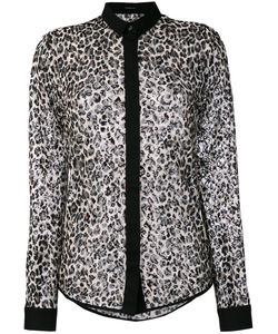 Unconditional | Leopard Mesh Shirt Women M