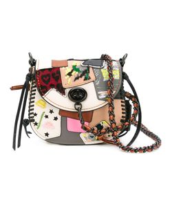 COACH | Patchwork Crossbody Bag Leather/Calf Leather/Polyester