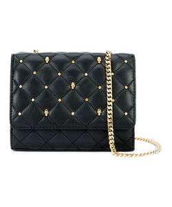 Thomas Wylde | Quilted Studded Crossbody Lamb Nubuck