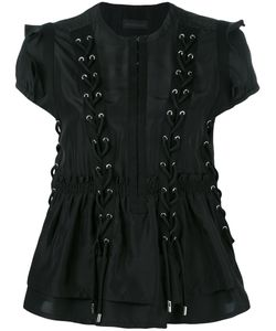 Diesel Black Gold | Calpos Lace-Up Blouse