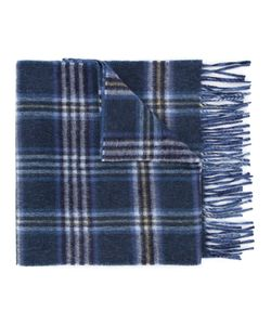 GIEVES & HAWKES | Plaid Fringed Scarf Men