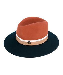 Maison Michel | Двухцветная Фетровая Шляпа