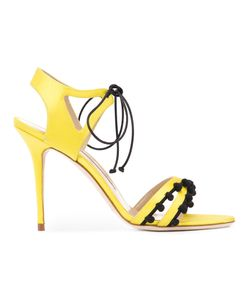 Manolo Blahnik | Tie-Up Esparra Sandals