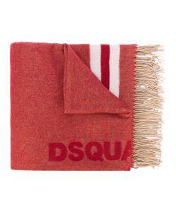 Dsquared2 | Шарф С Логотипом И Кисточками