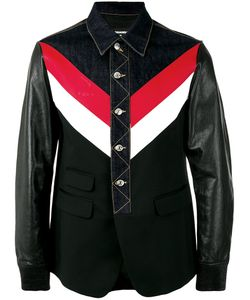 Dsquared2   Denim And Leather Jacket