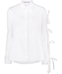 Sandy Liang | Noah Long Sleeve Bow Shirt Women
