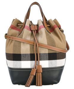 Burberry | House Check Bucket Tote