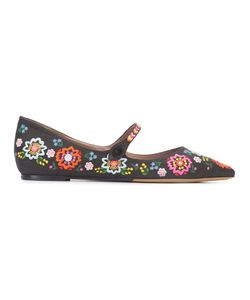 Tabitha Simmons | Hermione Fest Ballerina Shoes