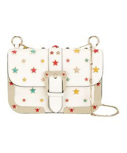 Red Valentino | Star Stud Shoulder Bag Calf Leather/Acrylic/Metal