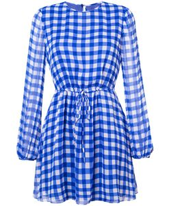 Diane Von Furstenberg | Платье В Клетку Гингем