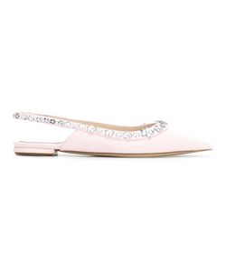 Dior | Embellished Pointed Toe Ballerinas Size 40