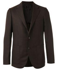 Caruso | Pocket-Front Blazer 52 Wool/Cupro