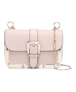 Red Valentino | Buckled Shoulder Bag Leather