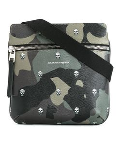 Alexander McQueen | Camouflage Print Messenger Bag Leather