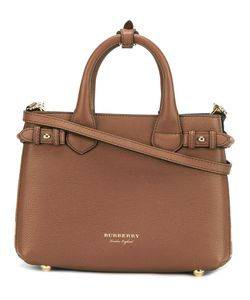 Burberry | Logo Plaque Tote Leather