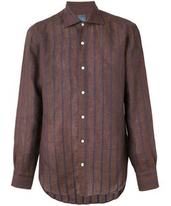 Barba | Embroidered Stripe Shirt 41