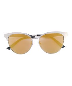 Gucci Eyewear | Cat Eye Engraved Sunglasses Size
