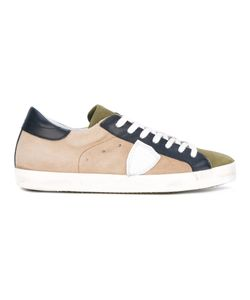 Philippe Model | Panel Lace-Up Sneakers