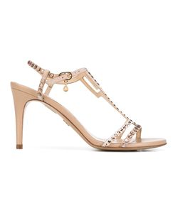 Loriblu | Geometric Embellished Sandals 38