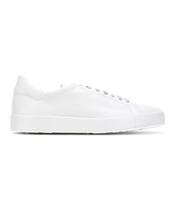 Jil Sander | Lace-Up Sneakers 42 Calf Leather/Leather/Rubber
