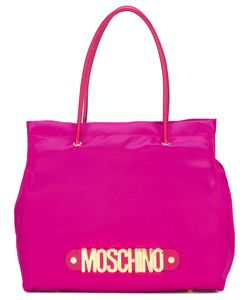Moschino | Logo Letters Tote Cotton/Leather